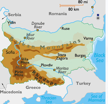 About Bulgaria